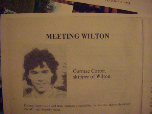 Cormac Cotter AOH Captain 1988 image