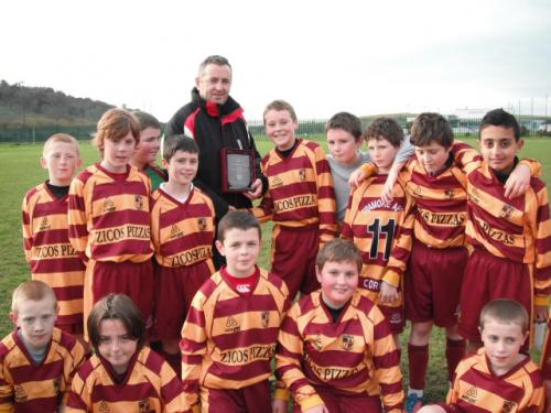 Cathal Crowley Life Fm Man of the match u12 v Corinthians  image