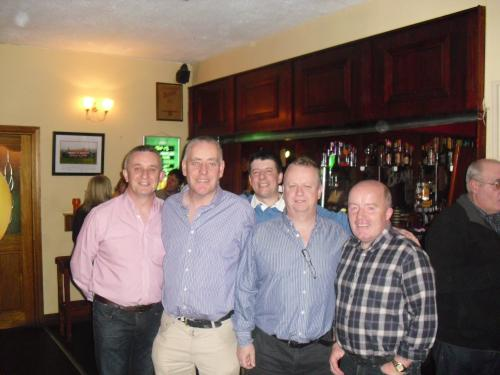 Derek,Donal,Mark,Freddy and Kieran