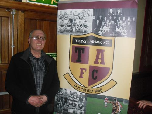 Facilities officer Tony McCabe