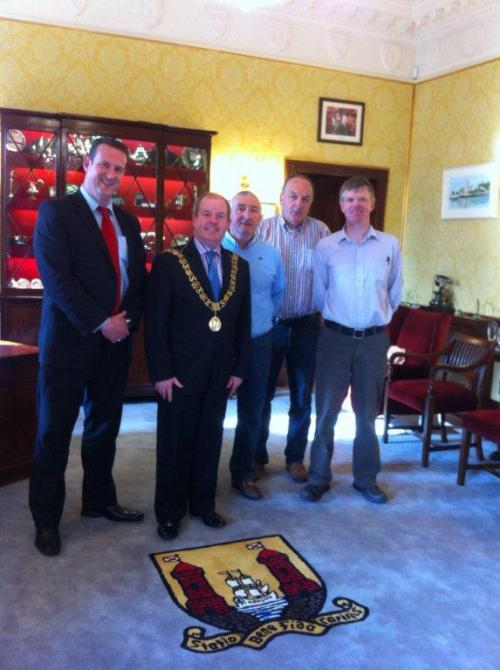 Meeting with The Lord Mayor Cllr. Terry Shannon March 2012