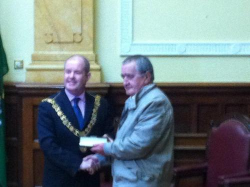 Tramore AFC night with the Lord Mayor May 2012