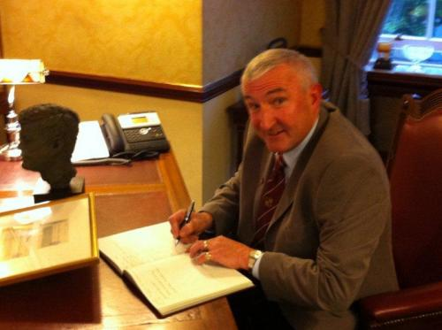 The Lord Mayor of Tramore AFC, Der O' Callaghan, May 2012