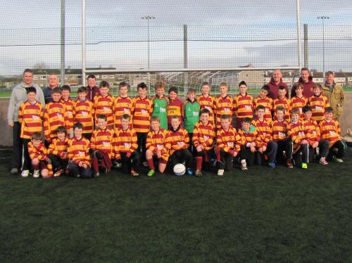 U12 Squad 2011/2012 with Brendan Sheehan, BJS Consultants image