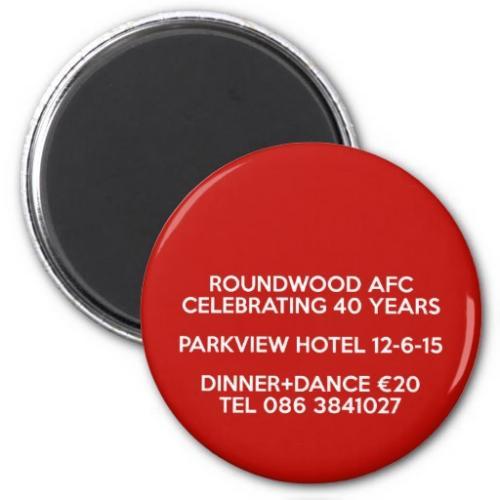 Roundwood AFC dinner dance