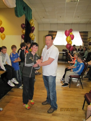 Tramore AFC U13 Most Improved Player 2012, Andrew McGowan  image