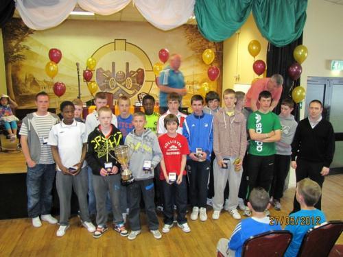 U15 Div 1 League Winners 2012 image