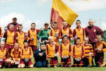Tramore U14 quarter-final victory in Dundalk, 2004 image