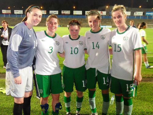 Wilton Girls on International Duty image